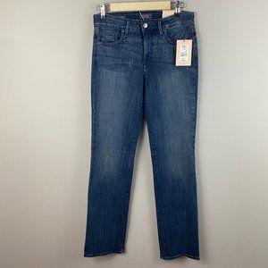 NYDJ Marily Straight Jeans NWT Size 6